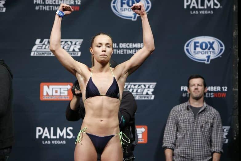 Роуз Намаджунас на UFC 187 подерётся с Ниной Ансарофф