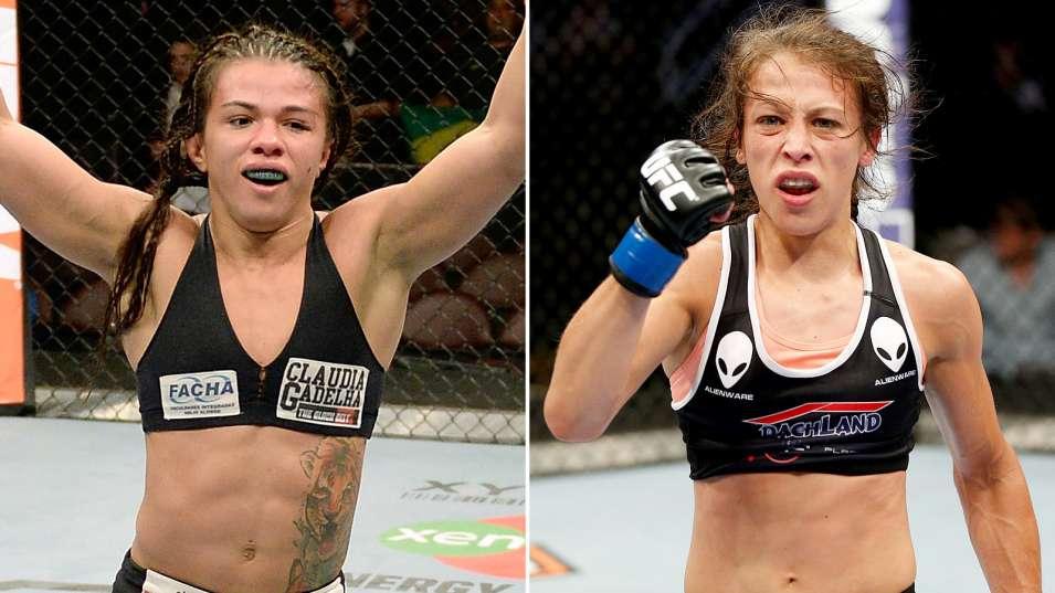 UFC on FOX 13: Клаудия Гаделья – Йоанна Еджейчик