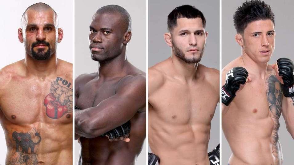 UFC FN 59: Константинос Филиппу – Юрайя Холл, Хорхе Масвидаль – Норман Парк