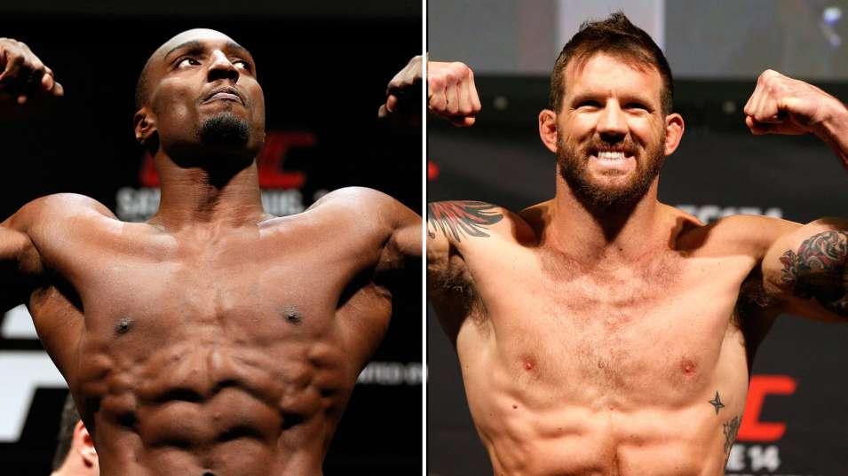 Фил Дэвис против Райана Бейдера на UFC on FOX 14