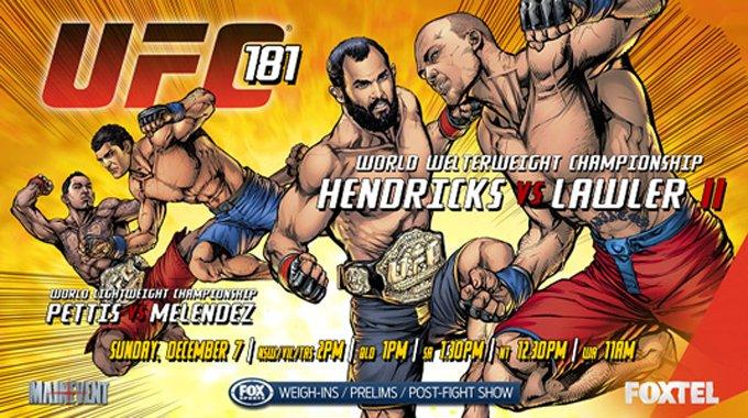 Результаты UFC 181: Хендрикс проиграл Лоулеру, Петтис задушил Мелендеса