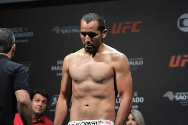 Бой Зубайра Тухугов – Эрнест Чавес на UFC Fight Night 53