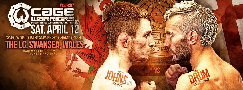 Результаты Cage Warriors 67: Джонс уверенно побеждает Брама