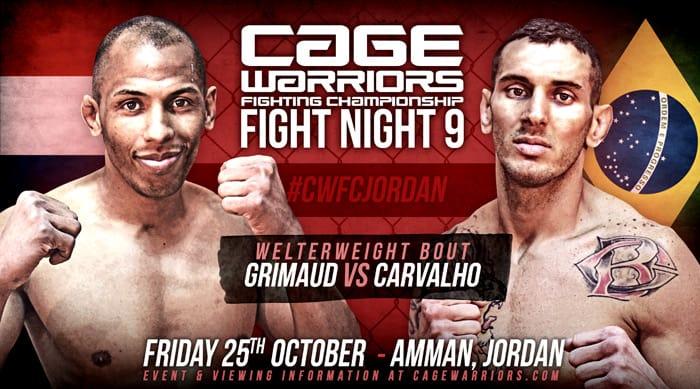 Результаты Cage Warriors Fight Night 9: Карвальо без шансов против Гримо