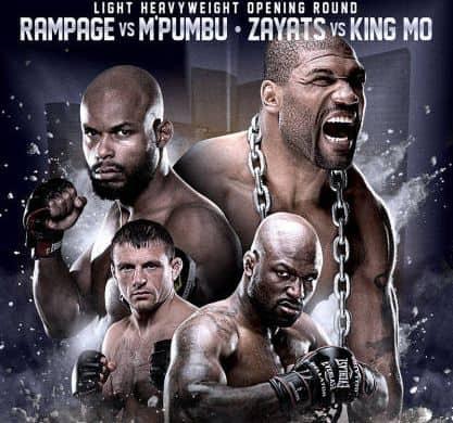 Bellator 110: «Ремпейдж» –  М'Пумбу и «Кинг Мо» – Заяц