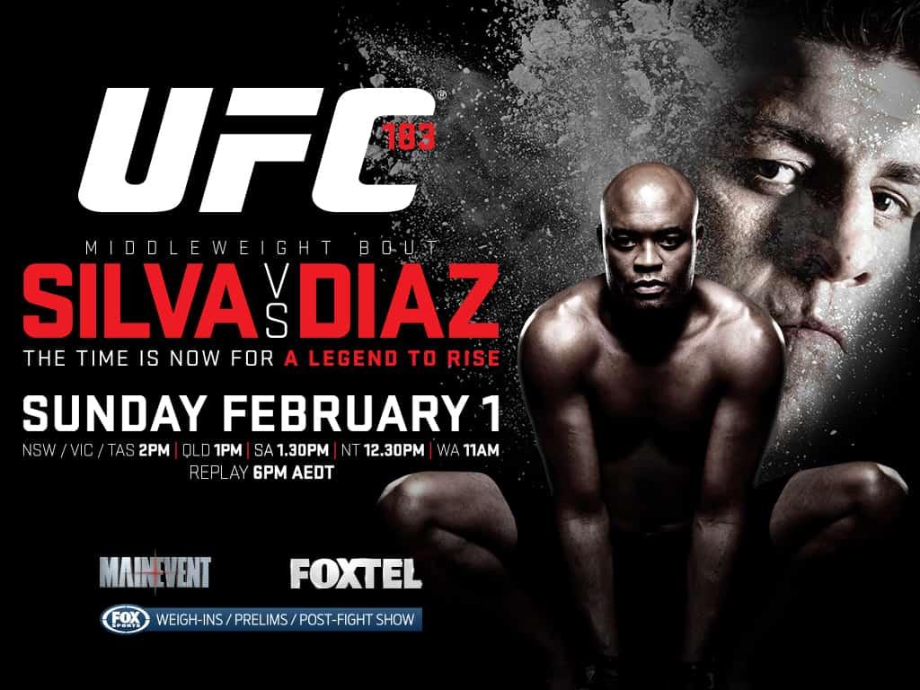 Результаты UFC 183: Андерсон Сильва победил Ника Диаса