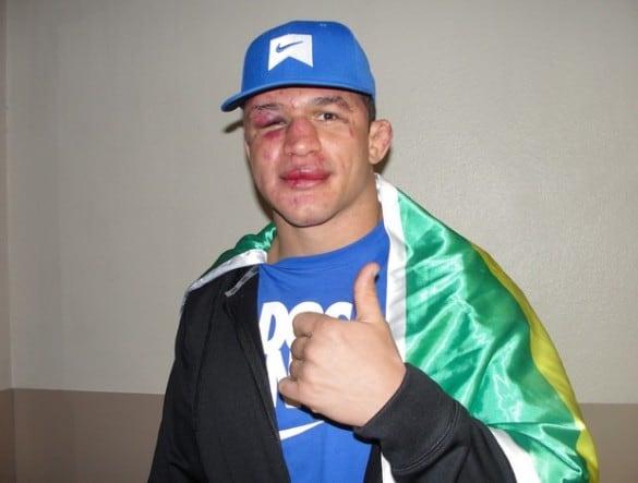Джуниор Дос Сантос после боя с Кейном Веласкесом