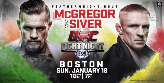 Результаты UFC Fight Night 59: МакГрегор уничтожил Сивера
