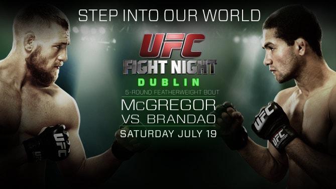 Результаты UFC Fight Night 46: МакГрегор нокаутировал Брандао