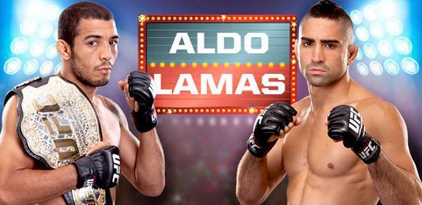 В кард UFC 169 добавлены бои Альдо — Ламас и Барао — Крус