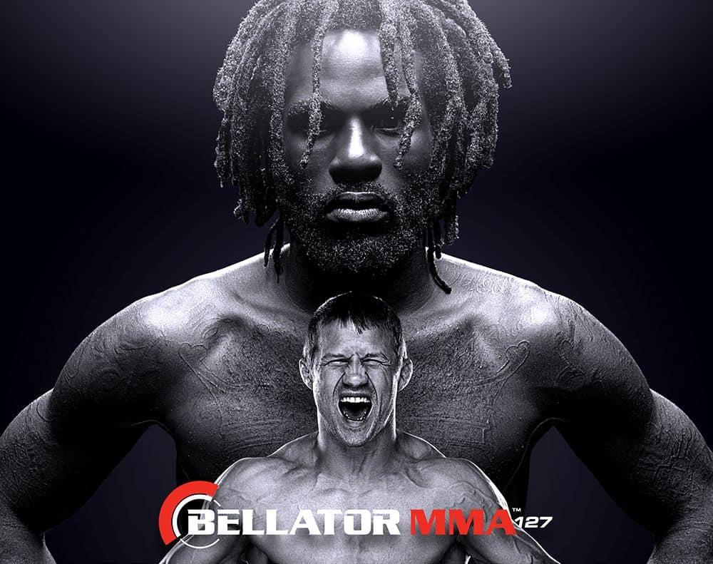 Дэниэл Страус и Джастин Вилкокс в главном бою Bellator 127