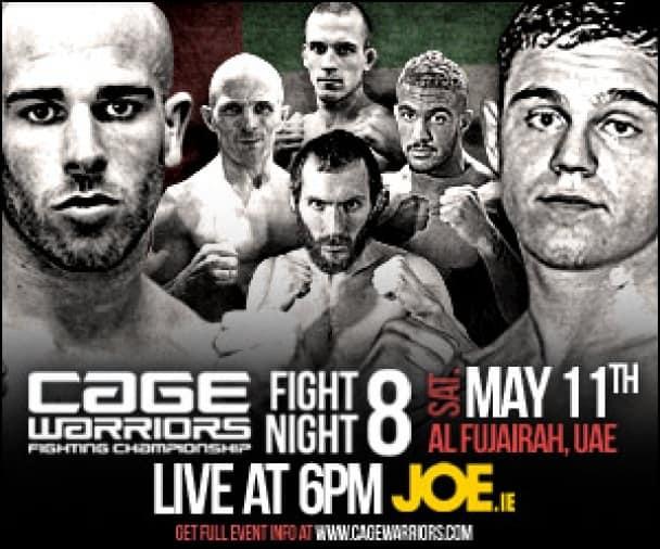 Результаты Cage Warriors Fight Night 8: Джек Мейсон одолел Коллина Ройтера решением