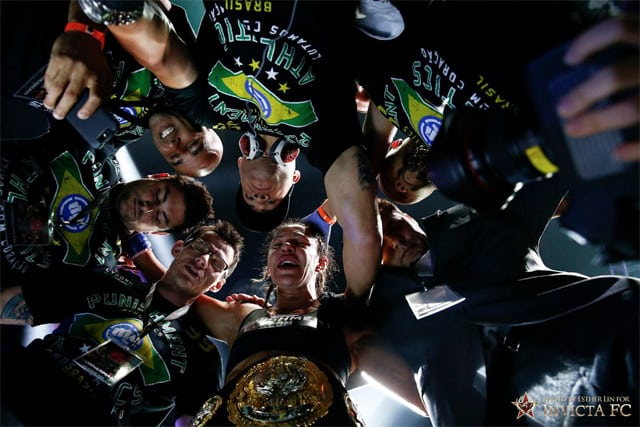 В Invicta FC не против перехода Крис Жустино в UFC