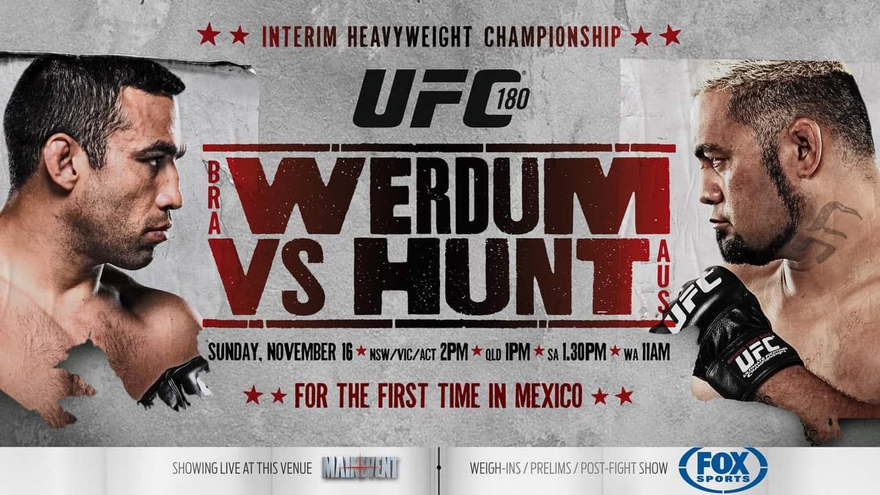 Результаты UFC 180: Вердум нокаутировал Ханта