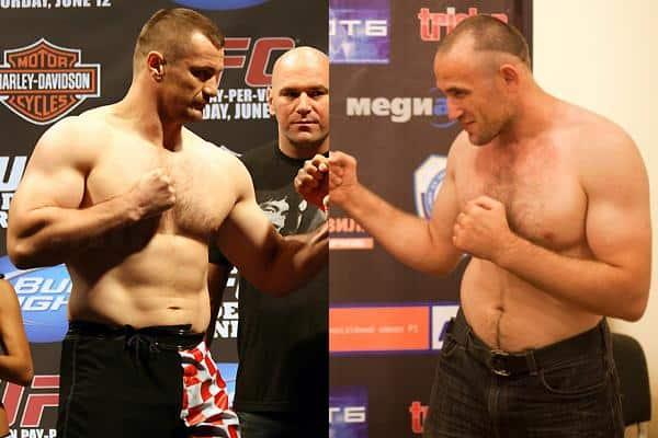 Мирко Филипович и Алексей Олейник