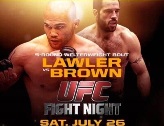 Результаты UFC on FOX 12: Лоулер побеждает Брауна