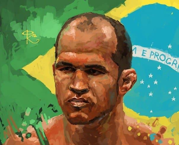 Портреты участников главного боя UFC 155