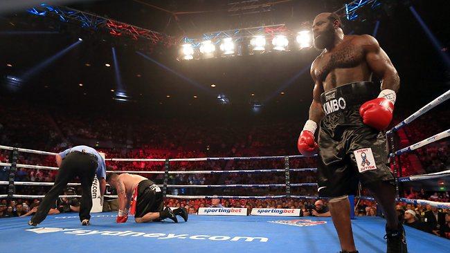 Кимбо Слайс нокаутировал Шейна Тильярда во втором раунде