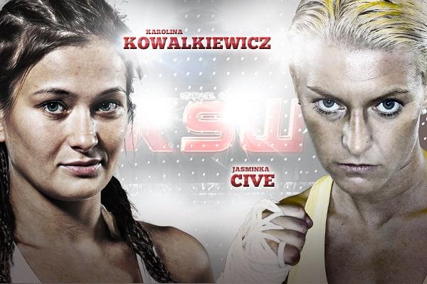 Ясминка Цивэ стала соперницей Каролины Ковалькевич на KSW 24