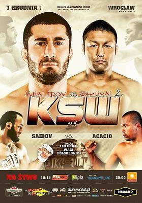 Результаты KSW 25: Халидов и Саидов побеждают