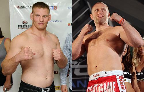 Сергей Харитонов против Алексея Кудина на M-1 Challenge 43