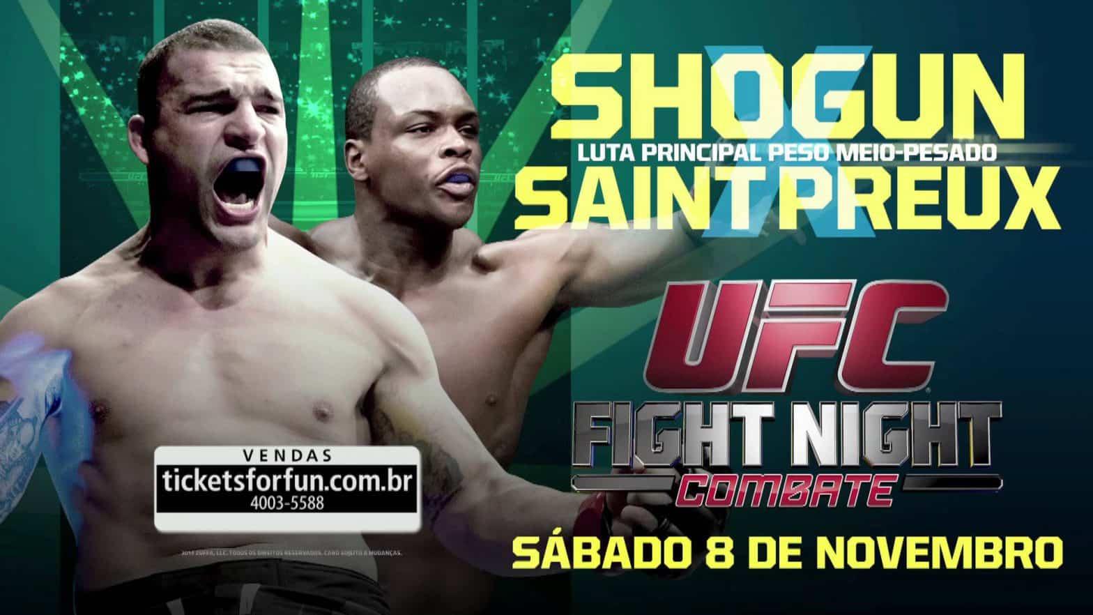 Результаты UFC Fight Night 56: OSP быстро нокаутировал «Шогуна»