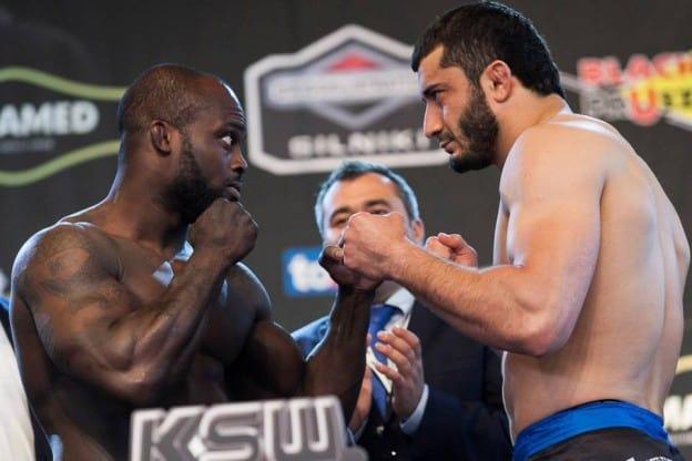 Мамед Халидов победил Мелвина Манхуфа удушением в первом раунде