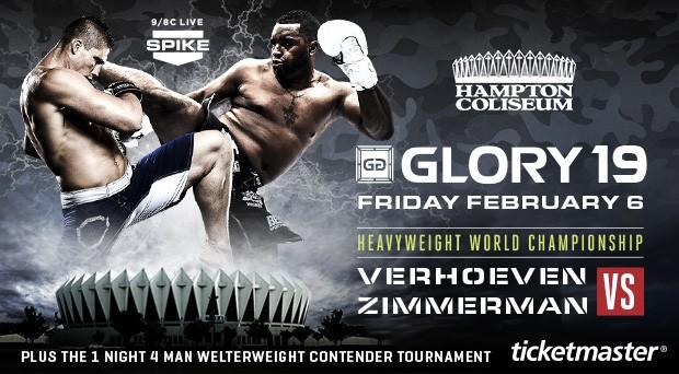 Результаты Glory 19: Верховен побеждает Зиммермана