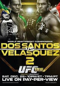 Результаты UFC 155: Кейн Веласкес взял реванш у Джуниора Дос Сантоса
