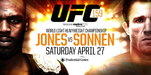 Результаты UFC 159: Вечер технических решений