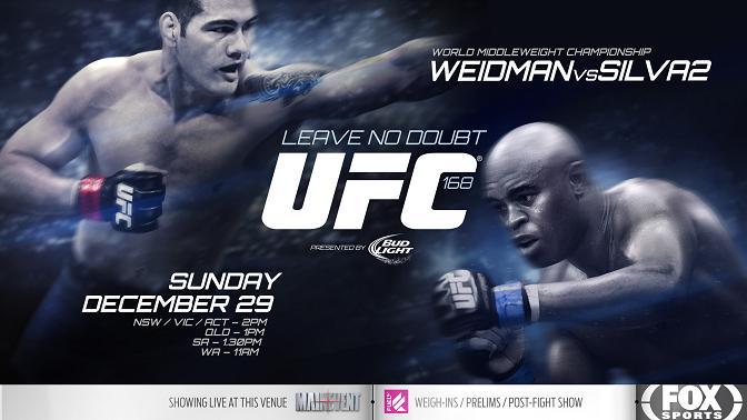 Подробный обзор UFC 168
