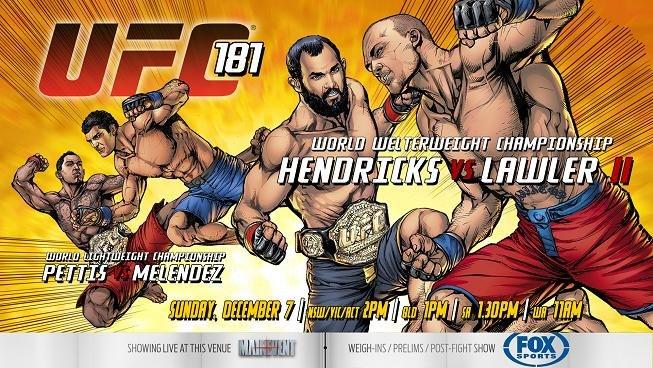 UFC 181: Превью и прогнозы основных боёв
