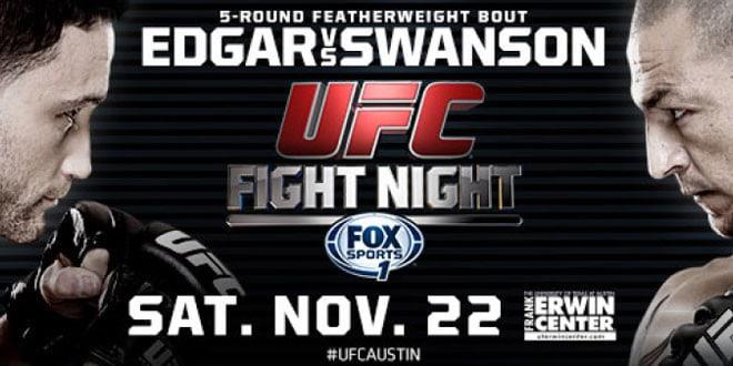 Результаты UFC Fight Night 57: Эдгар засабмитил Свонсона за 4 секунды до окончания боя