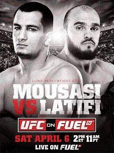Результаты UFC on Fuel TV 9: Травмированного Гегарда Мусаси хватило для победы над Илиром Латифи