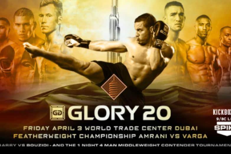 Glory 20 пройдёт в ОАЭ 3 апреля: Пэтт Берри встретится с Мурадом Бузиди