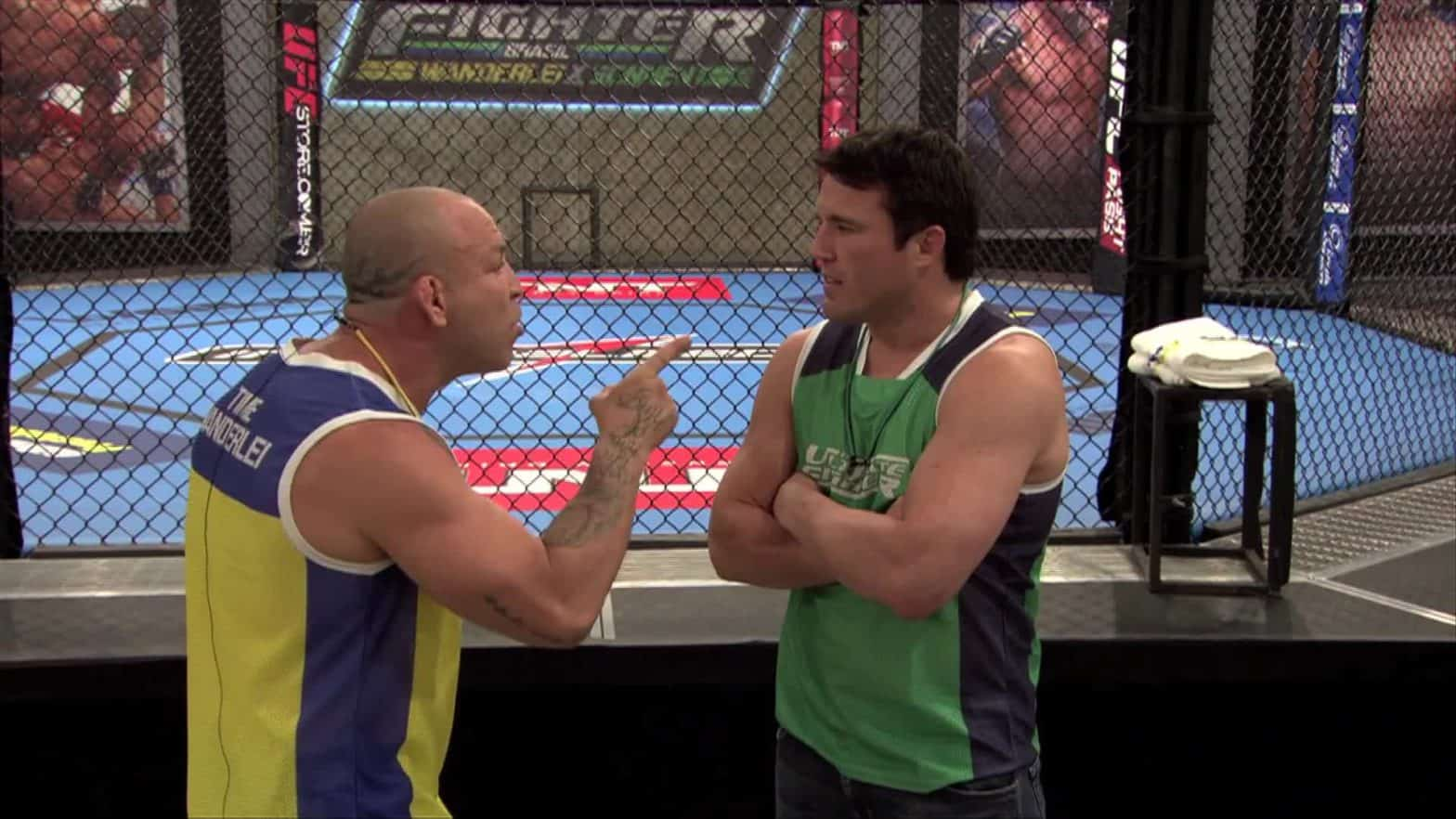 Чейл Соннен и Вандерлей Сильва встретятся на «Wrestlemania 31» 29 марта