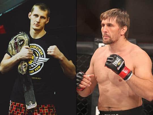 Александр Волков против Виталия Минакова на Bellator 109