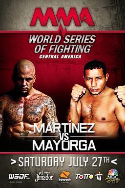 Рикардо Майорга проиграл Райану Мартинесу на WSOF: Central America
